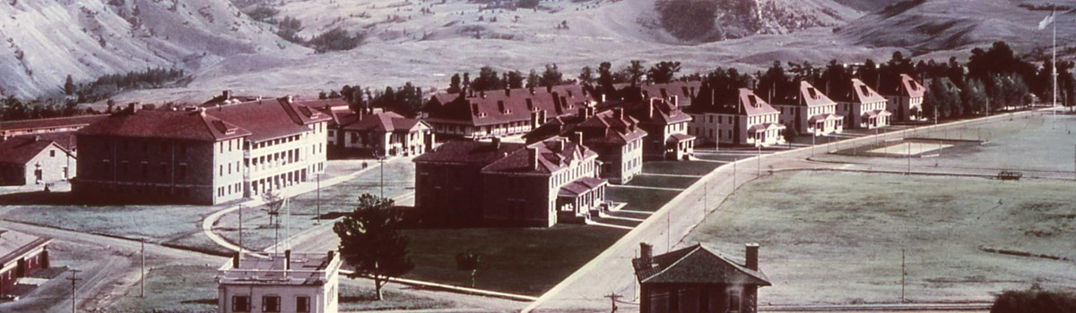 View of Fort Yellowstone circa 1910.