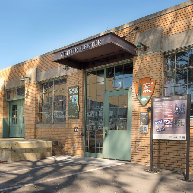 Photograph of the front of the Visitor Education Center