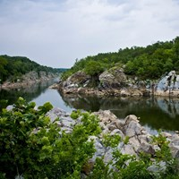 Potomac River at Great Falls Park.
