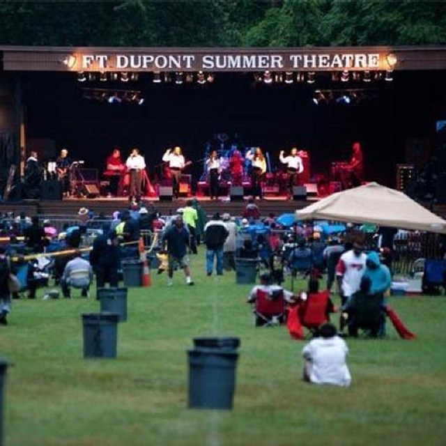 Concert at Fort Dupont Park.