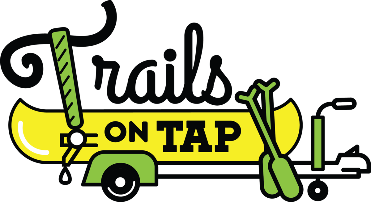 Trails on Tap Logo