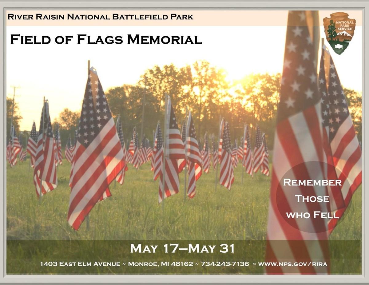 Remembering the Fallen FIELD OF FLAGS MEMORIAL