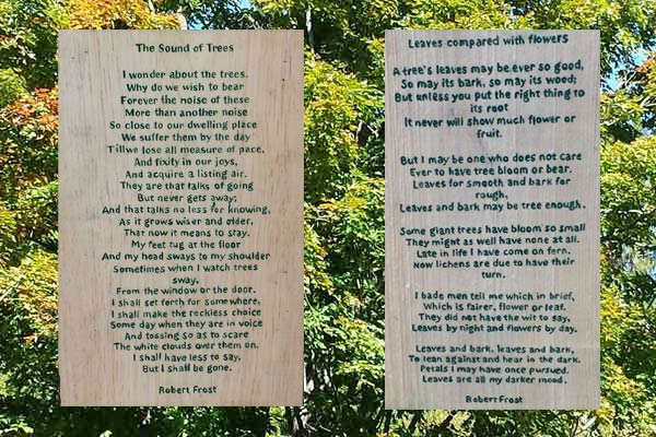 Follow Robert Frost Poetry Trail Us National Park Service