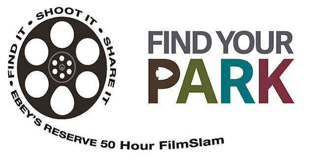 Find Your Park and FilmSlam Logos