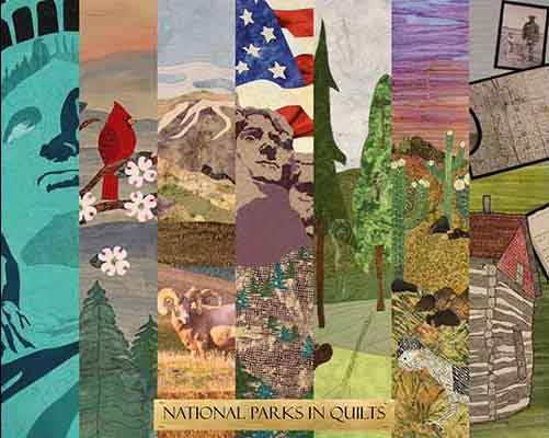 Collage of Centennial Quilts