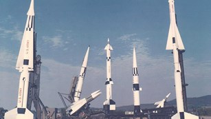 Hercules, Ajax, and Nike U.S. Army Cold War defense missiles