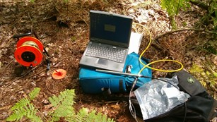Tools used to collect data for water monitoring.