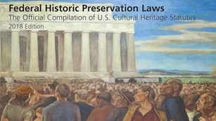 Cover of Preservation Law text. Title against