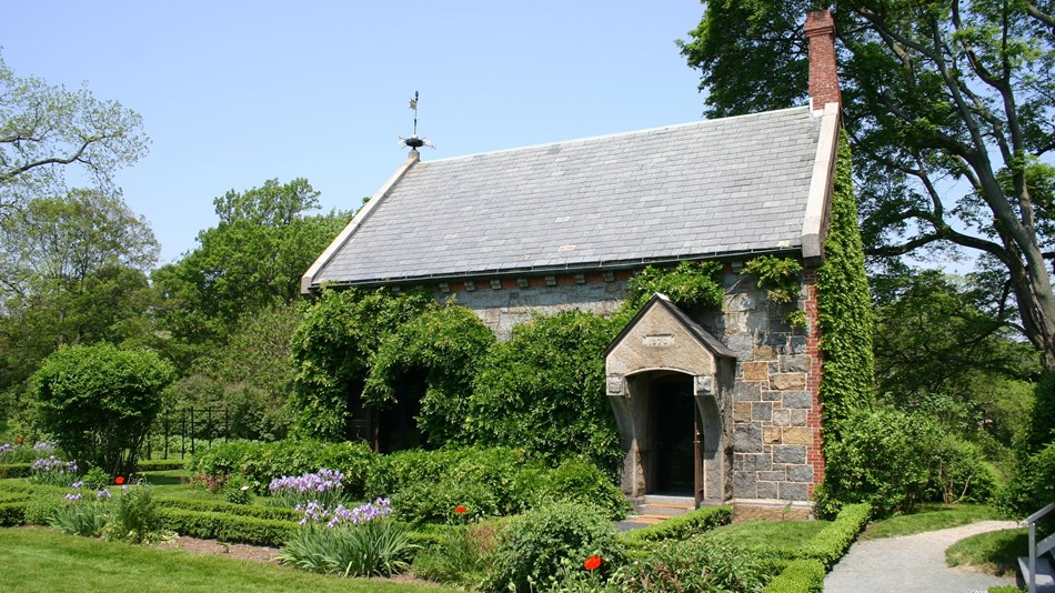 The Stone Library at Peace field