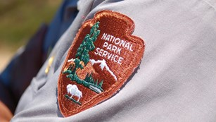 Photo of a National Park Service uniform patch.