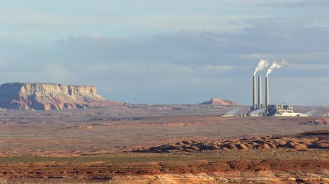 View of Navajo Generating Station