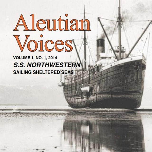 Book cover with sepia-toned photo of large ship