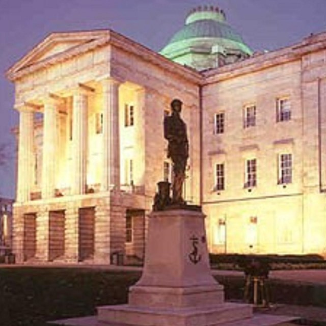 The North Carolina State Capitol Pride Of The State Teaching With Historic Places U S National Park Service