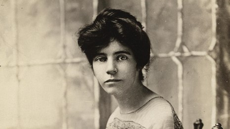 Picture of Alice Paul founder of the National Women's Party