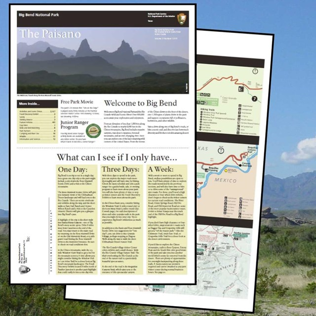 The Big Bend Paisano Visitor Guide