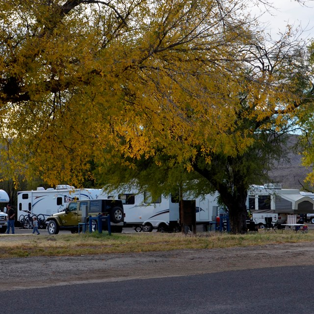 Information on RV and trailer camping.
