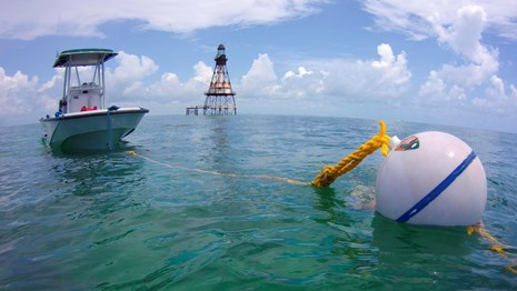 New mooring buoys make it easier for visitors to explore and enjoy the wonders of the park!
