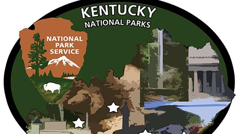 Kentucky National Parks Pentathlon Patch