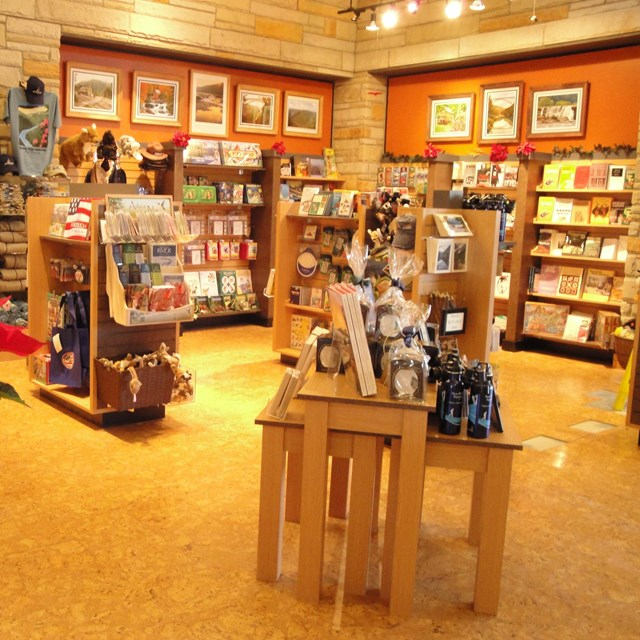 bookstore at Canyon Rim