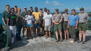 Group photo of Slave Wrecks Project team, from across Africa and the National Park Service