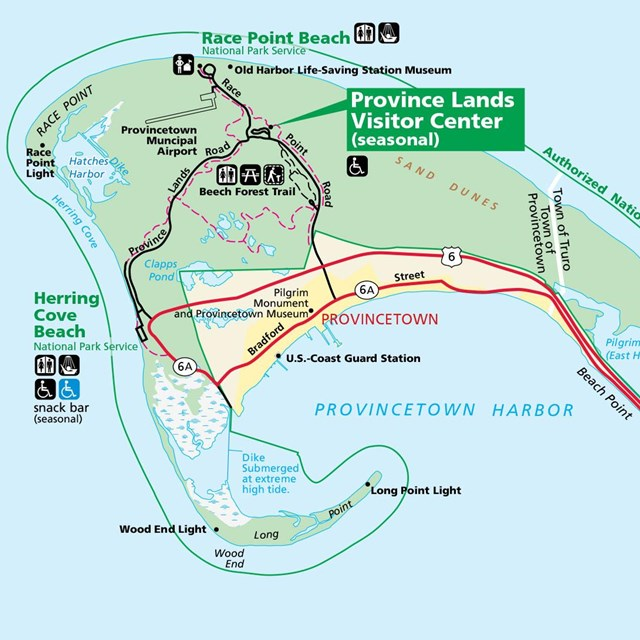 Directions - Cape Cod National Seas (U.S. National Park Service) on