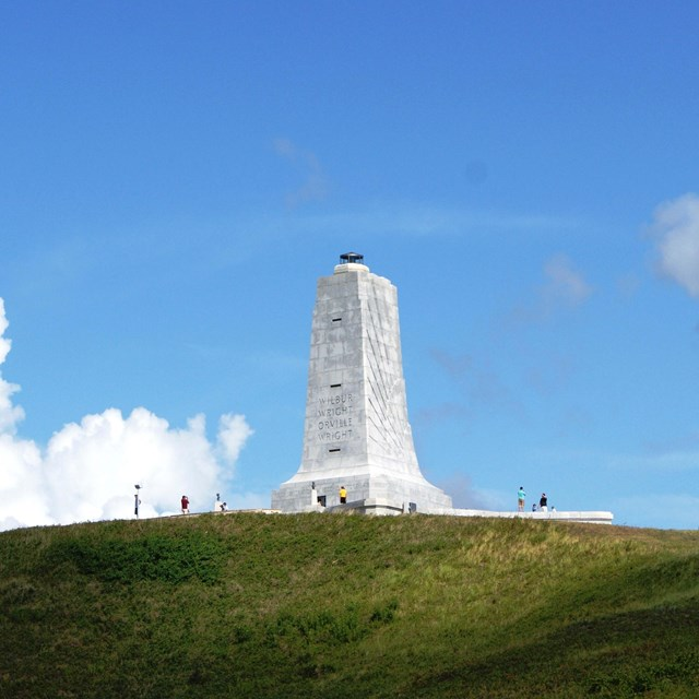 The Wright Brothers Monument on Big Kill Devil Hill