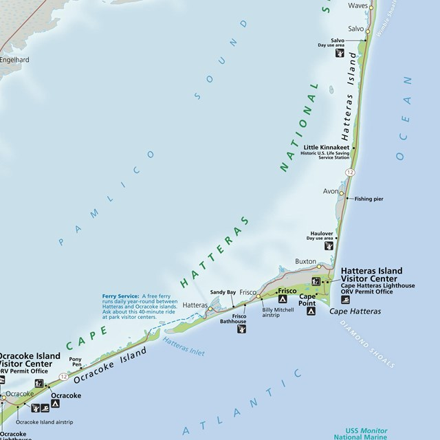 Directions Transportation Cape Hatteras National Seashore U S