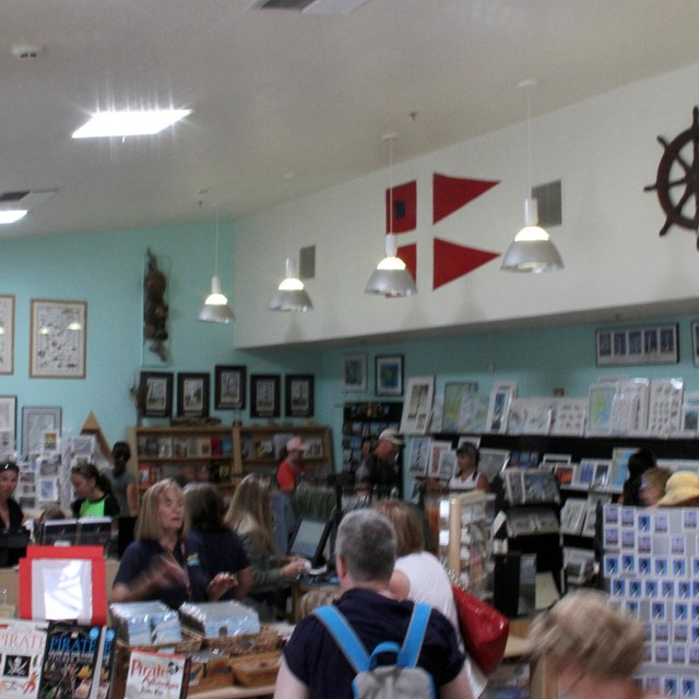 Cape Hatteras Light Station bookstore