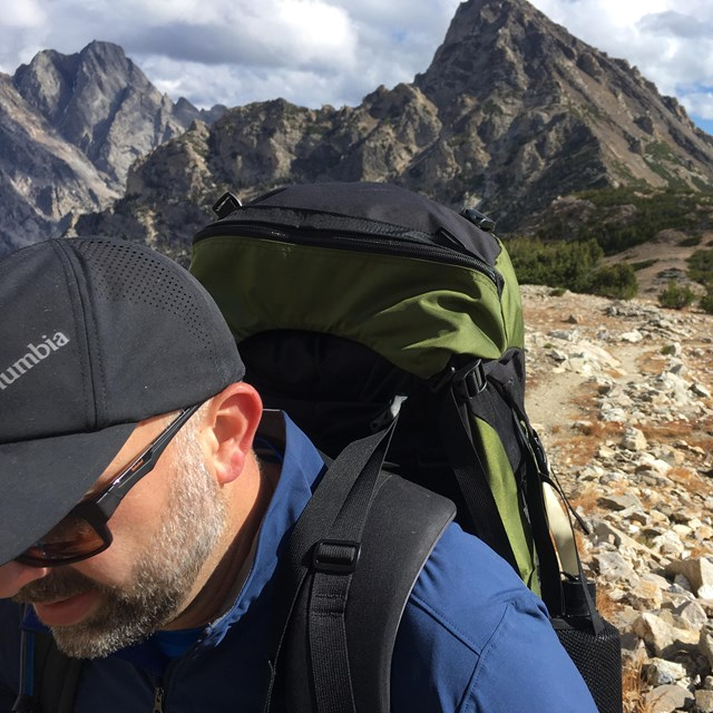 David Restivo backpacking