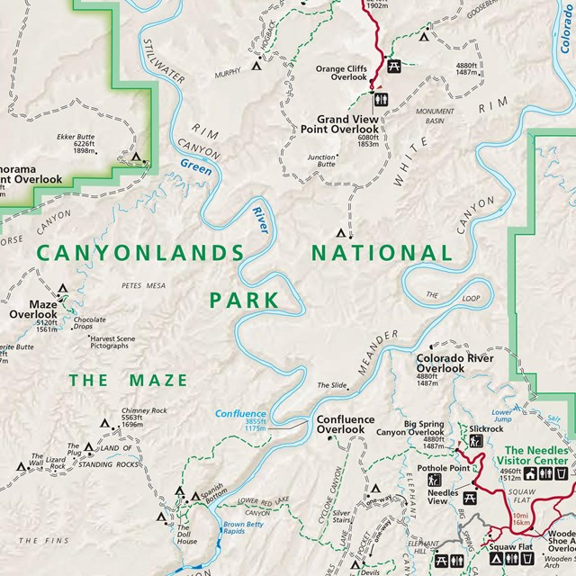 Backcountry Travel Planner - Canyonlands National Park (U.S. ... on