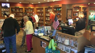 The Eastern National Bookstore at Chickamauga Battlefield