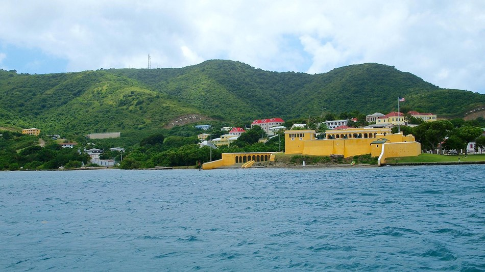 Explore seven acres centered on the Christiansted waterfront/wharf area.