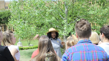 Schedule a guided interpretive tour