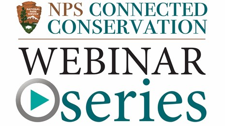 NPS Connected Conservation Webinar Series, arrowhead logo