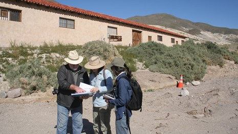 The Cultural Landscape Research Group considers a condition assessment at Death Valley