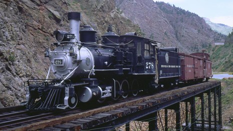 Cimarron Rail Exhibit