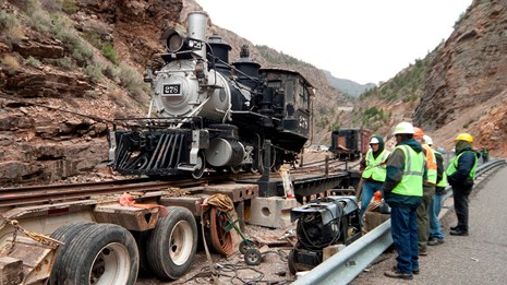 Cimarron Train Restoration Project