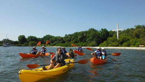 Free Ranger Led Kayak Tours throughout the Summer