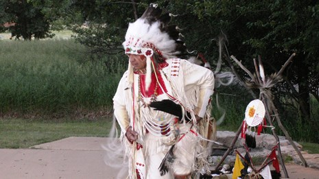 Willie LeClair Native American Dancer