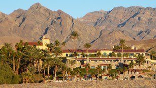 The Furnace Creek Inn is Death Valley's most luxurious hotel.