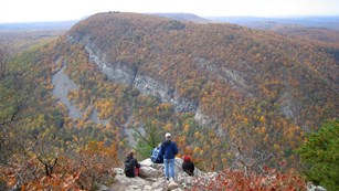 View of Mount Minsi on the Appalachian Trail