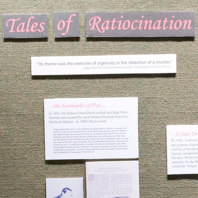 Color photo of an exhibit panel with the heading