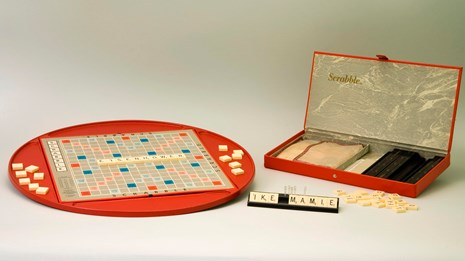 Ike and Mamie's Scrabble set.