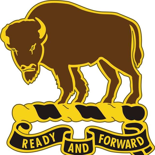 Image of the 10th Cavalry regimental insignia.