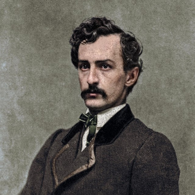 John Wilkes Booth Portrait Image
