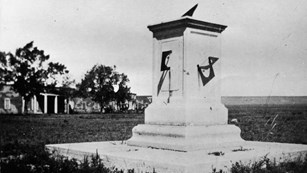 Historic Picture of Depot Sundial