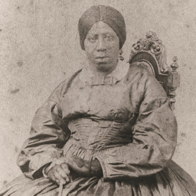 A photograph of Anna Douglass