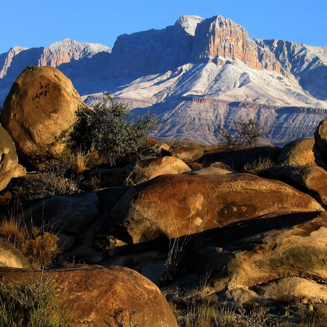 El Capitan at Guadalupe Mountain National Park NPS Photo/ Bueler
