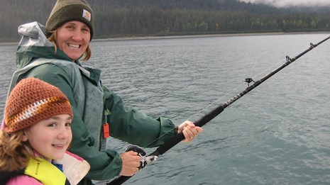 Sportfishing in Glacier Bay