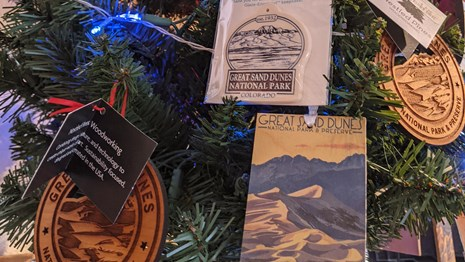 The WNPA Online Store has Great Sand Dunes souvenirs.